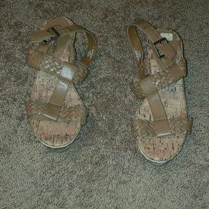 Girls sandal heels